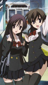 School Days.Kotonoha Katsura Magic THL W8 wallpaper.Sekai Saionji.1080x1920