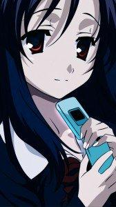 School Days.Kotonoha Katsura Sony Xperia V wallpaper.720x1280