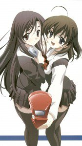 School Days.Kotonoha Katsura Sony Xperia Z wallpaper.Sekai Saionji.1080x1920