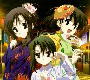 School Days.Kotonoha Katsura.Sekai Saionji Android wallpaper.Setsuna Kiyoura.2160x1920