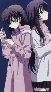 School Days.Kotonoha Katsura.Sekai Saionji HTC One wallpaper.1080x1920 (1)