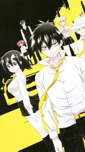Blood Lad.Staz Charlie Blood Samsung Galaxy Mega 6.3 wallpaper.Fuyumi Yanagi.720x1280