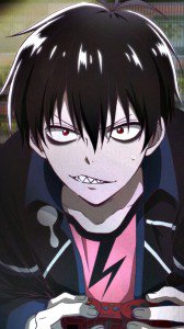 Blood Lad.Staz Charlie Blood Samsung Galaxy S4 wallpaper.1080x1920