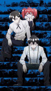 Blood Lad.Staz Charlie Blood.Braz D. Blood.Liz T. Blood Sony Xperia V wallpaper.720x1280