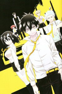 Blood Lad.Staz Charlie Blood.Fuyumi Yanagi iPhone 4 wallpaper.640x960