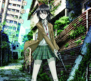 Coppelion.Ibara Naruse Android wallpaper.1440x1280