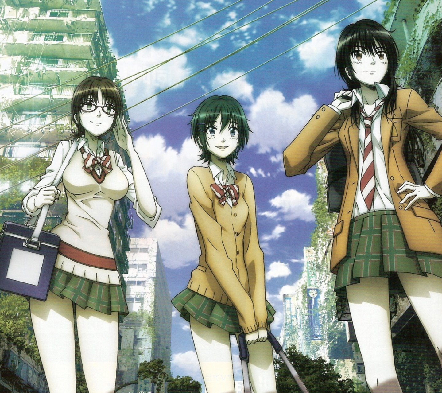 Coppelion android and iPhone wallpapers