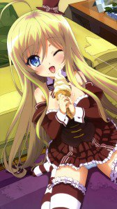 Noucome.Chocolat Lenovo K900 wallpaper.1080x1920