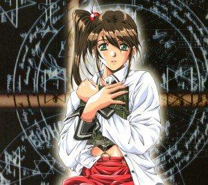 Bible Black.Kurumi Imari Android wallpaper.2160x1920