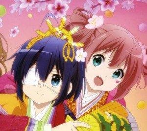 Chunibyo Demo Koi ga Shitai Ren.Rikka Takanashi Android wallpaper.Satone Shichimiya.2160x1920 (1)