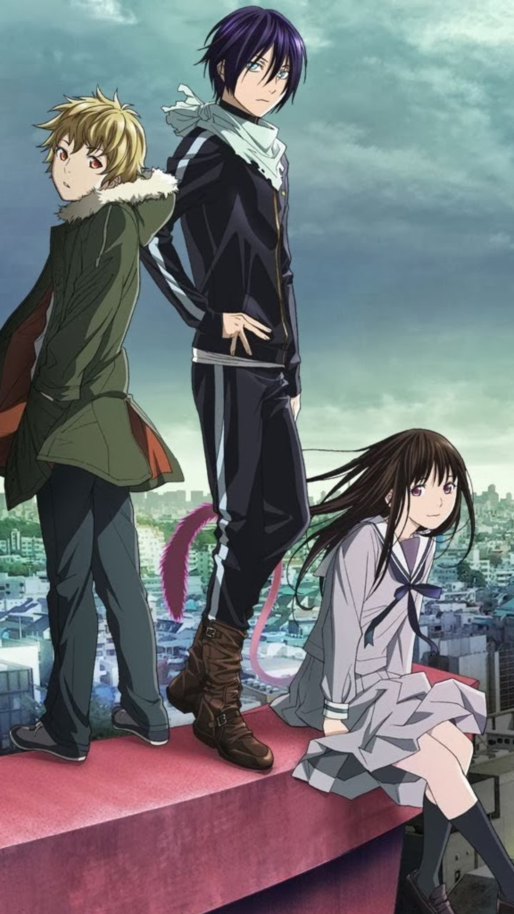 Noragami animes i 39 ve watched pinterest noragami - Yato wallpaper ...