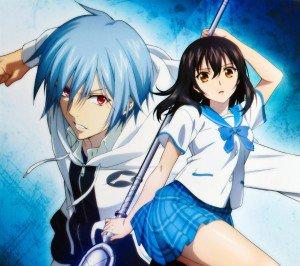 Strike the Blood.Yukina Himeragi.Kojou Akatsuki Android wallpaper.2160x1920
