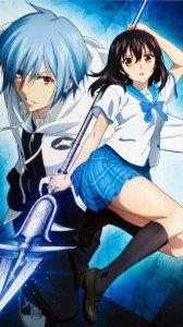Strike the Blood.Yukina Himeragi.Kojou Akatsuki Sony Xperia Z wallpaper.1080x1920