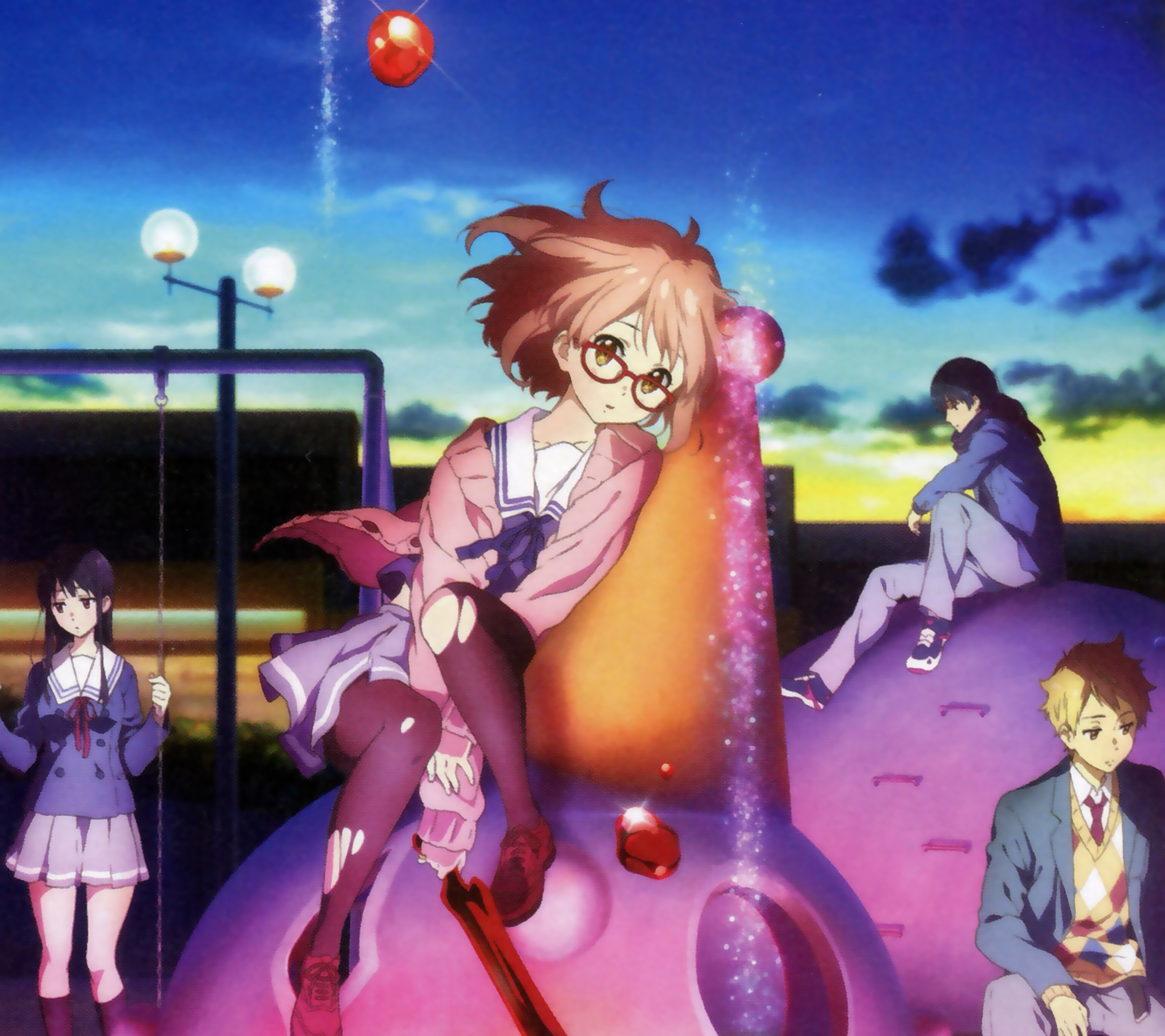 Kyoukai No Kanata Beyond The Boundary Wallpapers For Android And