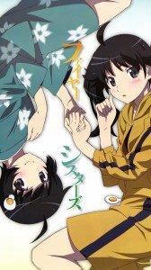 Monogatari.Karen Araragi.Tsukihi Araragi Magic THL W9 wallpaper.1080x1920