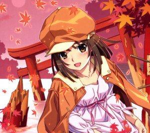 Monogatari.Nadeko Sengoku Android wallpaper.2160x1920 (1)