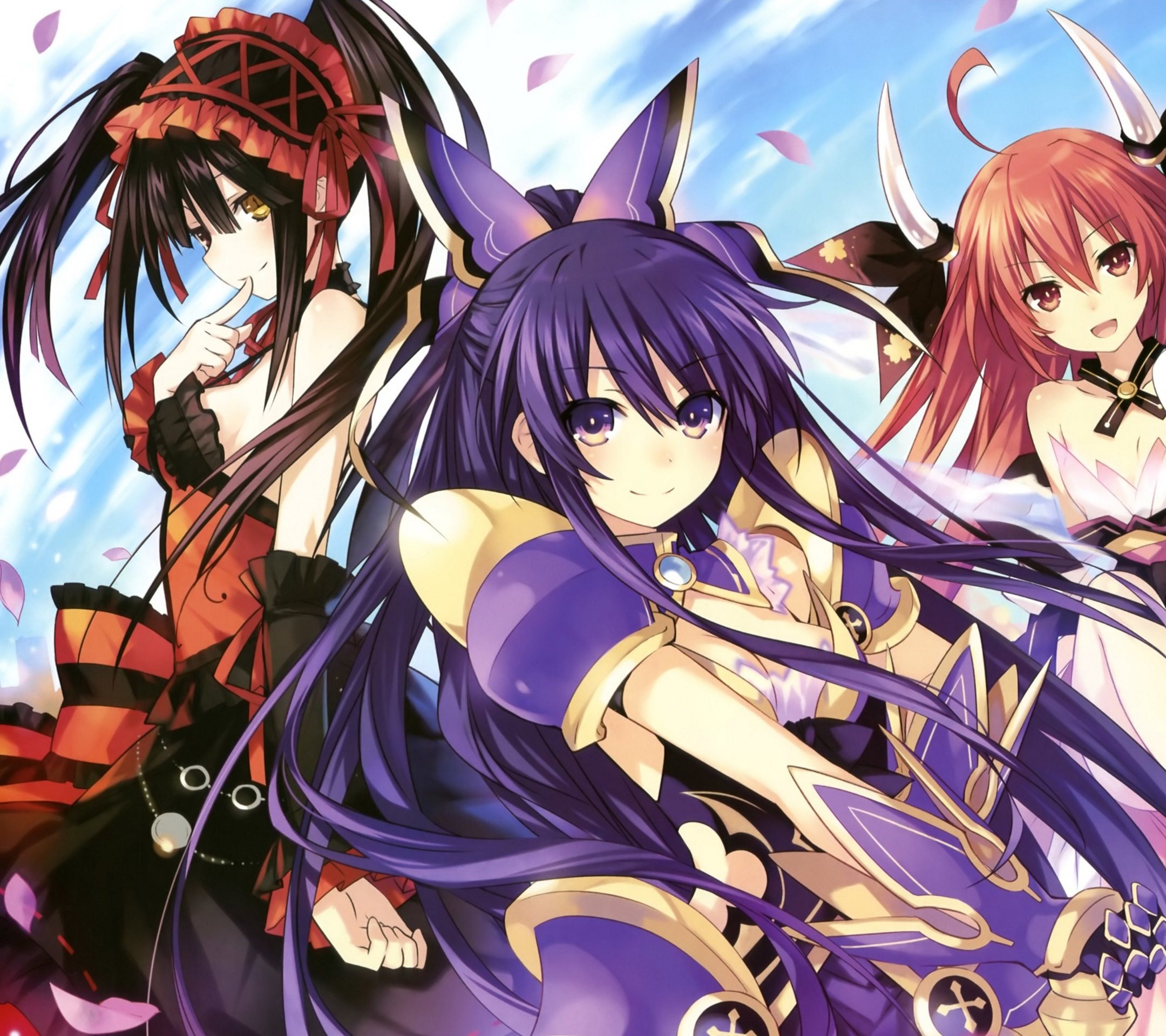 Date A Live Ii Wallpapers 2160x1920 1080x1920 For Android And Iphone
