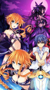 Date a Live 2.iPhone 5 wallpaper.640x1136