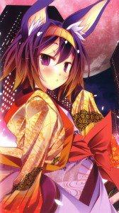 No Game No Life.Izuna Hatsuse Lenovo K900 wallpaper.1080x1920