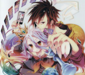 No Game No Life.Sora Android wallpaper.Shiro.2160x1920