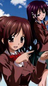 Sora no Otoshimono.Sohara Mitsuki HTC One wallpaper.Mikako Satsukitane.1080x1920