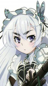 Hitsugi no Chaika.Chaika Trabant iPhone 6 wallpaper.750x1334