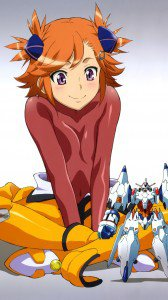 Captain Earth Akari Yomatsuri iPhone 6 wallpaper 750x1334