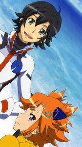 Captain Earth Daichi Manatsu Akari Yomatsuri iPhone 6 wallpaper 750x1334