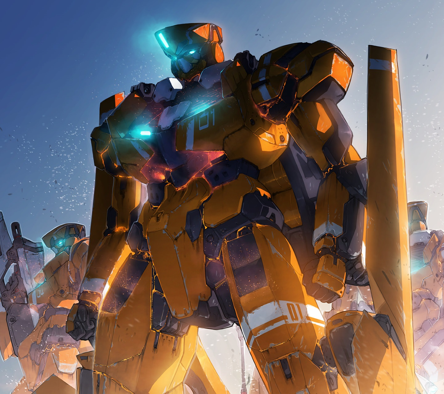 Aldnoah Zero.Android wallpaper.1440x1280