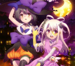 Halloween 2014 anime.Fate-kaleid ILLYA Android wallpaper.2160x1920