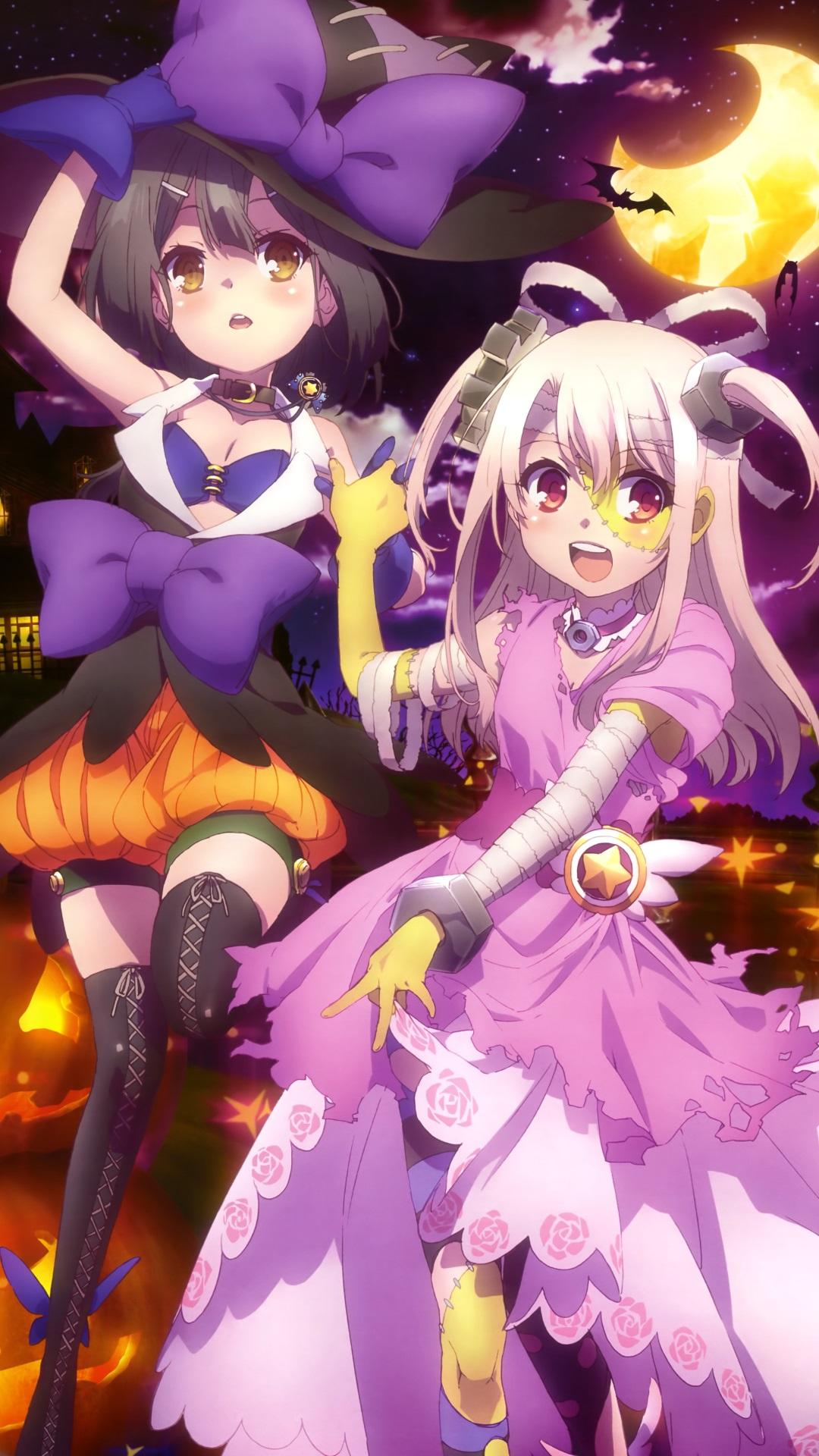 Halloween 2014 Anime Fate Kaleid Illya Iphone 6 Plus Wallpaper
