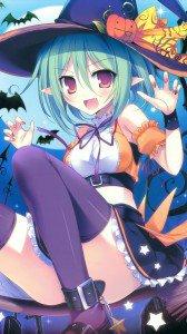 Halloween 2014 anime.Samsung Galaxy S4 wallpaper.1080x1920