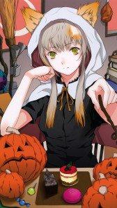 Halloween 2014 anime.iPhone 6 Plus wallpaper.1080x1920