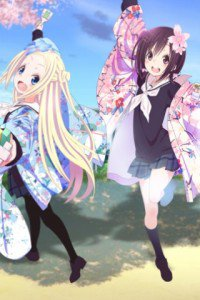 Hanayamata Hana N. Fountainstand Naru Sekiya.Fly E154 wallpaper 320x480