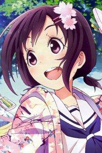 Hanayamata Naru Sekiya.iPhone 4 wallpaper 640x960