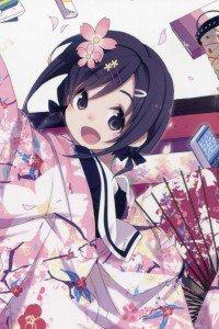 Hanayamata Naru Sekiya.iPod 4 wallpaper 640x960