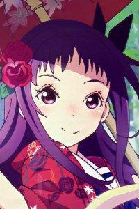 Hanayamata Yaya Sasame.iPod 4 wallpaper 640x960