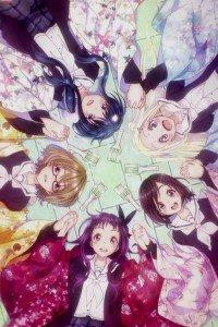 Hanayamata.iPhone 4 wallpaper 640x960
