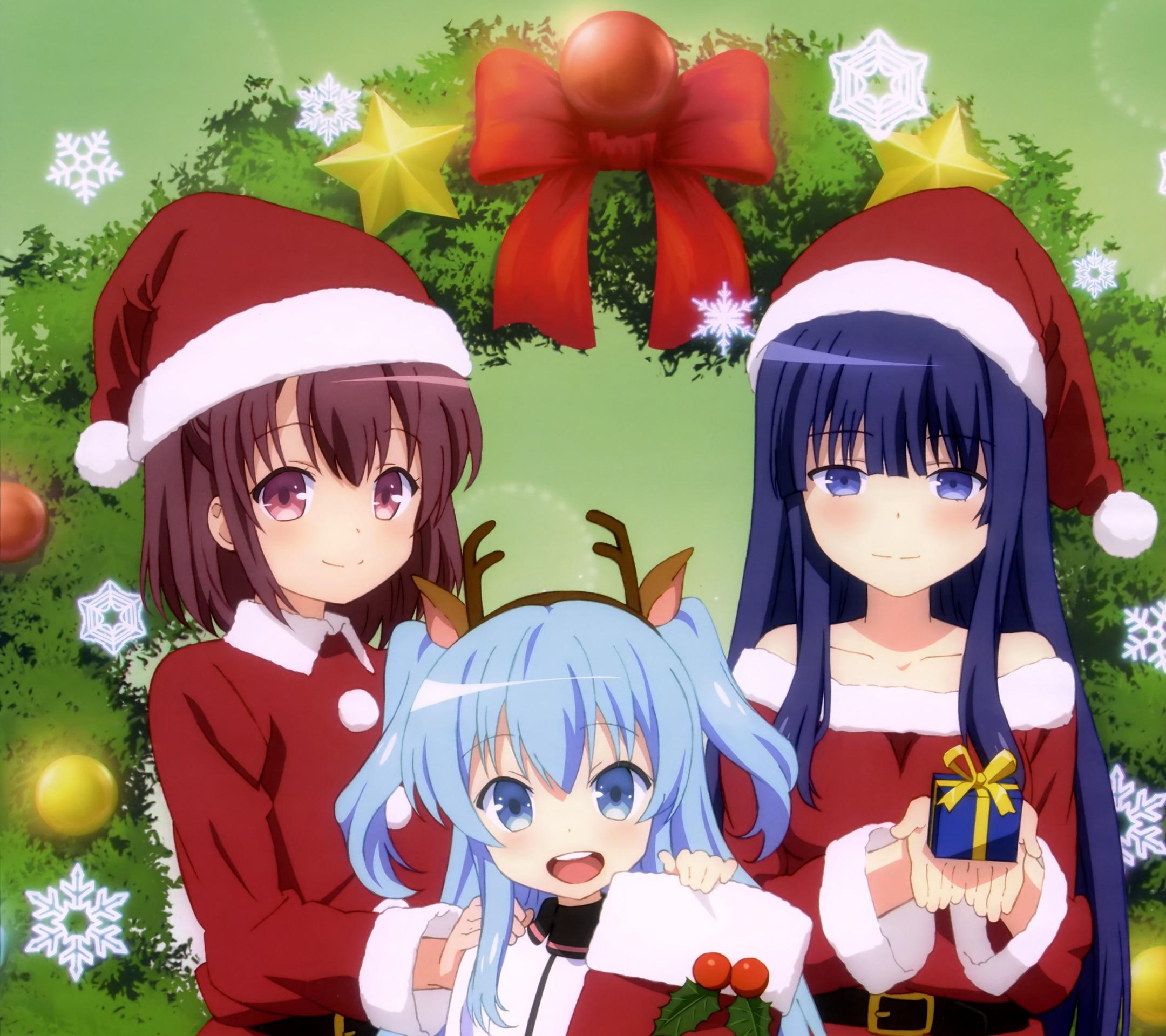 Christmas 2015 anime wallpapers - Anime merry christmas wallpaper ...