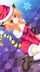 Christmas 2015 anime.HTC One wallpaper 1080x1920