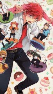Gekkan Shoujo Nozaki-kun Mikoto Mikoshiba iPod 5 wallpaper 640x1136