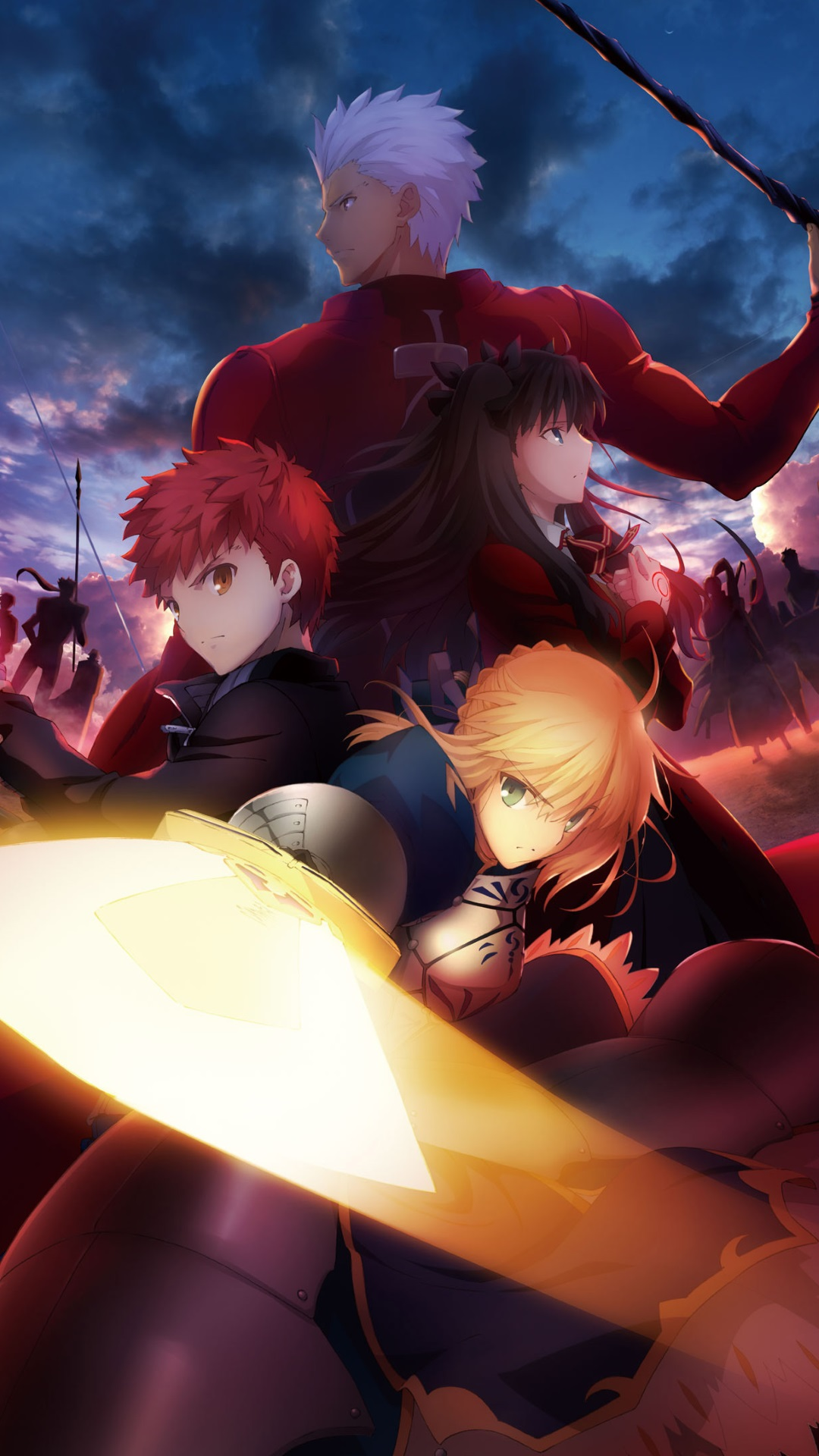 fate stay night unlimited blade works 1080 u00d71920  u2013 kawaii mobile