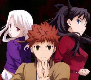Fate Stay Night Unlimited Blade Works Rin Tohsaka Illyasviel von Einzbern Shiro Emiya.Android wallpaper 2160x1920