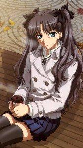 Fate Stay Night Unlimited Blade Works Rin Tohsaka.Magic THL wallpaper 1080x1920