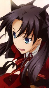 Fate Stay Night Unlimited Blade Works Rin Tohsaka.Magic THL W9 wallpaper 1080x1920