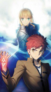 Fate Stay Night Unlimited Blade Works Saber Shiro Emiya.Samsung Galaxy S4 wallpaper 1080x1920