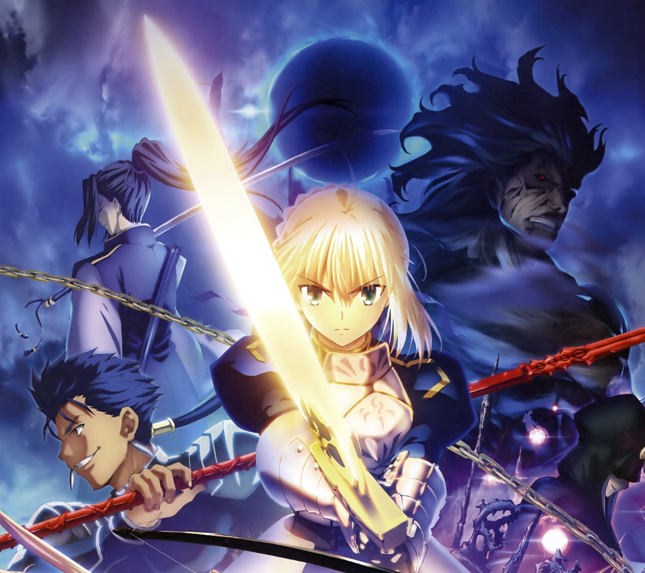 Fate Stay Night Unlimited Blade Works Android Wallpaper