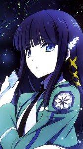 Mahouka Koukou no Rettousei Miyuki Shiba.Sony LT26i Xperia S wallpaper 720x1280