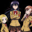 """Seitokai Yakuindomo"" Shino Amakusa, Aria Shichijou, Suzu Hagimura and Kotomi Tsuda smartphone wallpapers. Genre: Comedy, Harem, Slice of life. 2160x1920 wallpapers for android 1080x1920 wallpapers 720x1280 wallpapers iPhone 4 wallpapers..."