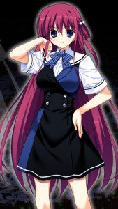 Grisaia no Kajitsu Amane Suou.iPhone 5 wallpaper 640x1136